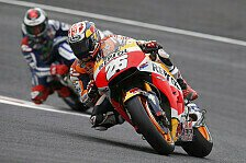 MotoGP - Kälte bereitet Lorenzo und Pedrosa Probleme