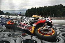 MotoGP - Bilder: Österreich GP - Pedrosa-Sturz