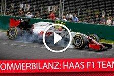 Formel 1 - Die F1-Sommerbilanz: Haas