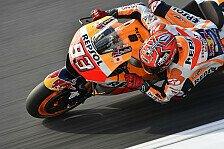 MotoGP - Marquez: Sturzrisiko im Rennen 50%