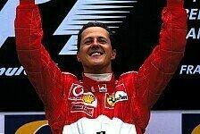 Michael Schumacher: Gute Wünsche von Ferrari, Tochter Gina & Co