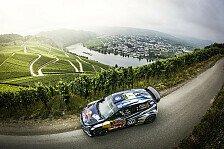 Ogier gewinnt Rallye Deutschland vor Sordo und Neuville