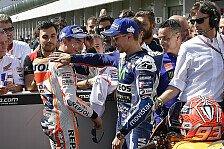 Marquez und Lorenzo kritisieren Fans in Malaysia