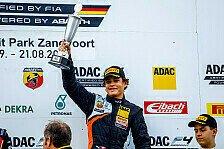 ADAC Formel 4 - Erster Sieg für Laliberté, Schumacher auf Rang 6