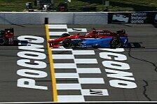 IndyCar - Video: IndyCar 2016: Die Highlights vom Rennen in Pocono