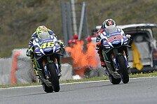 Rossi und Lorenzo im Titelkampf gegen Marquez: Gemeinsam statt gegeneinander?