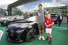 Auto - Bilder: Diese Autos fahren die FC Bayern-Stars