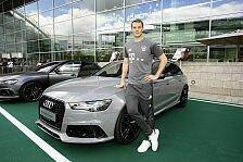 Auto - Video: Das sind die neuen Audis der FC Bayern-Stars