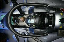 Halo-Test in Spa: Rosberg, Ricciardo, Sainz und Hülkenberg überzeugt