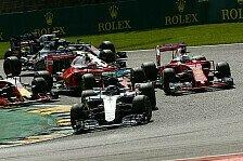 Formel 1 - Belgien GP: Gute TV-Quoten für Chaos-Rennen