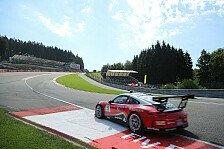 Supercup - Schwieriges Wochenende für Jeffrey Schmidt in Spa