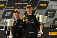 Dominik Baumann sichert sich die Meisterschaft in der Blancpain GT Series