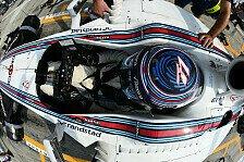 Formel 1 - Gurt-Probleme stellen Williams vor Rätsel
