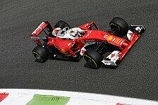 Team für Team - Italien GP in Monza: Freies Training, Mercedes vor Ferrari