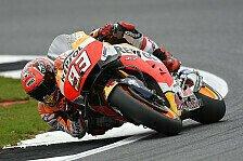 MotoGP - Marquez toppt drittes Training, Iannone stürzt