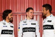 McLaren startet 2017 mit Fernando Alonso und Stoffel Vandoorne in der F1