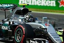 Rosberg siegt beim Italien GP in Monza vor Hamilton und den Ferraris