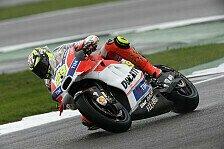 MotoGP - Wieder Regen: Hernandez vorn, Iannone im Kies