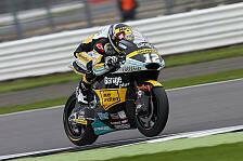 Drama in der Moto2 in Silverstone: Lüthi siegt, Zarco rammt Lowes in den Kies
