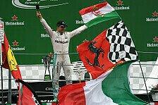 Einpeitscher für die Fans: Nico Rosberg gewinnt Respekt der Tifosi