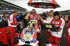 Andrea Iannone nach Rüclenverletzung auch beim Japan-GP in Motegi nicht am Start
