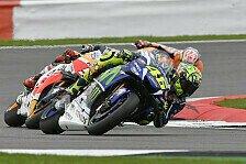 Erstes Training in Misano geht an Rossi, Marquez und Iannone mit Crashes