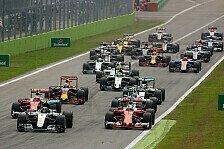 Formel 1 Live-Ticker Italien GP 2017: Donnerstag in Monza