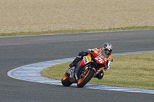 MotoGP - Jerez, Tag 3: Pedrosa auf Qualifyiern voran