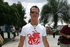 Formel 1 - Michael Schumacher: Die Saison ist ein Marathon, kein Sprint