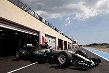 Formel 1: Extra dünne Ultrasoft-Reifen für Frankreich-Comeback