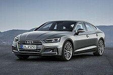 Auto - Audi S5 Sportback: Design trifft Funktionalität