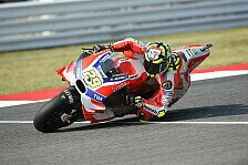 Andrea Iannone feiert in Sepang sein Comeback bei Ducati