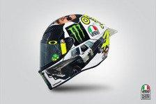 MotoGP - Bilder: Rossis Misano-Spezialhelm 2016
