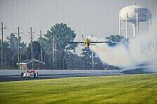 IndyCar - Video: Alex Rossis IndyCar vs. Kirby Chambliss' Edge 540 Flugzeug