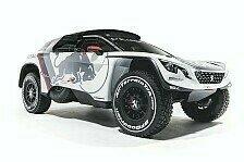 Dakar - Video: Peugeot präsentiert das neue Auto für die Dakar