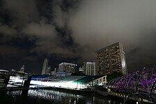 Formel 1 - Wetterprognose Singapur GP: Schauer und Gewitter