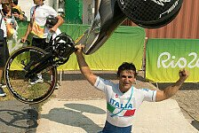 Ex-Formel-1-Pilot Alex Zanardi holt Goldmedaille bei Paralympics in Rio