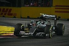 Team für Team - Singapur GP: Mercedes im Training vor Red Bull und Ferrari