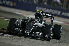 Singapur-Qualifying: Pole für Mercedes-Pilot Nico Rosberg, Vettel mit Defekt