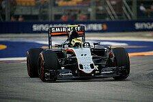 Nico Hülkenberg hat gegen Sergio Perez im Force-India-Duell kein Glück