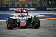 Technikteufel bei Haas: Darum fiel Grosjean in Singapur aus