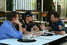 Max Verstappen: Frust wegen Ricciardo-Strähne? Jos Verstappen: Bullshit!