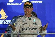 Formel 1 - Video: Nico Rosbergs Botschaft nach seinem Hammer-Sieg in Singapur