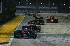 McLaren setzte in Singapur ein Ausrufezeichen im Kampf um den vierten Platz