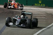 Analyse: Mercedes, Red Bull und Ferrari im Strategie-Krimi um den Singapur-Sieg