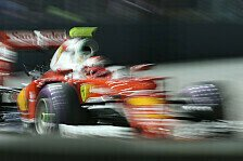 Singapur GP: Ferrari im Rennen plötzlich schnellstes Auto