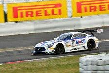 Blancpain GT Series - Asch mit Kampfgeist beim BES-Finale am Nürburgring