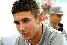 Esteban Ocon: Meine Eltern haben 9000 Euro in die Formel-1-Karriere investiert