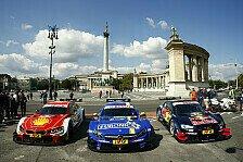 Die DTM absolvierte vor dem Wochenende am Hungaroring einen Termin in Budapest