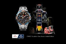 Formel 1 - Speed & Intelligence: Casio und Toro Rosso